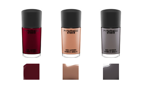 mac studio nail lacquer haute dogs collection