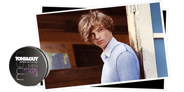 toni&guy men styling clay