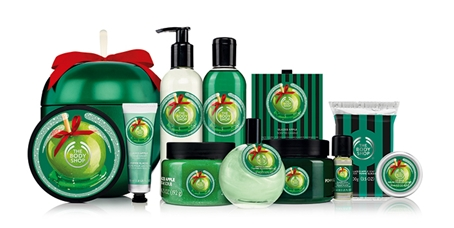 the body shop frosted apple