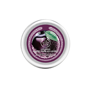 the body shop frosted plum lip balm