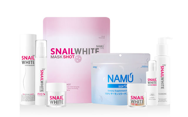 snail white products