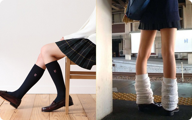 japanese school Uniforms sock