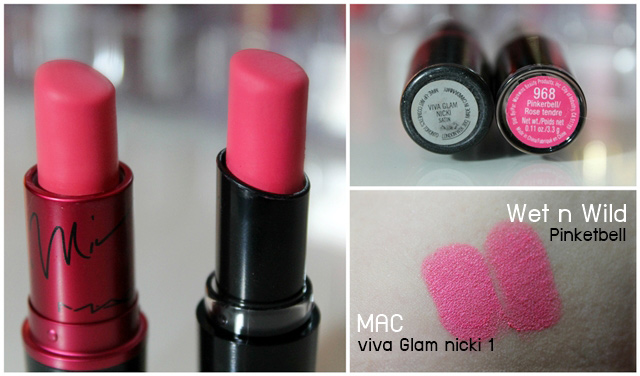 viva glam nicki VS pinketbell