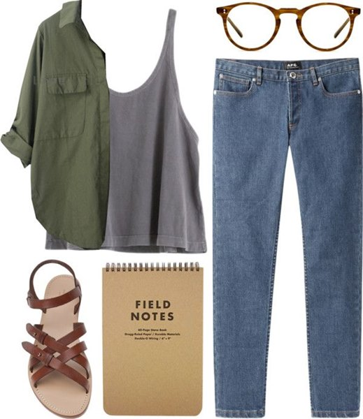 everyday outfit pattern