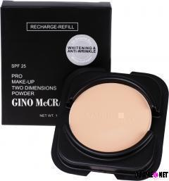 GINO McCRAY Pro Make-Up Q10&Collagen Two Dimensions Powder Recharge-Refill