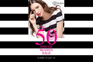 F.Fashion End of Season SALE up to 50%