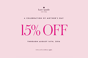 A Celebration of Mother's Day 15% off