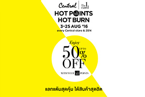 Central The 1 Card Hot Points, Hot Burn