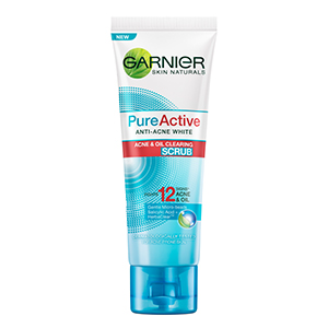 Pure Active Anti-Acne White Acne & Oil Clearing Scrub
