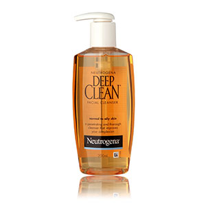 Deep Clean Facial Cleanser For Normal to Oily Skin