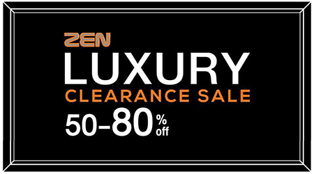Luxury Clearance Sale at ZEN @Central World