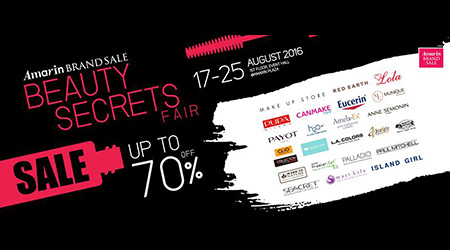 Beauty Secrets Fair Sales Up To 70%