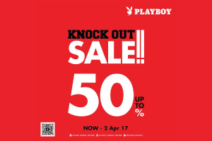 PLAYBOY KNOCK OUT SALE!! 50%