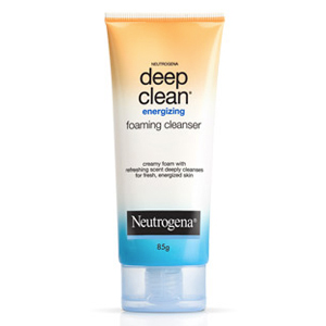 Deep Clean Energizing foaming Cleanser