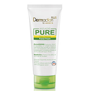 Anti-acne Pure Deep Cleansing Facial Foam