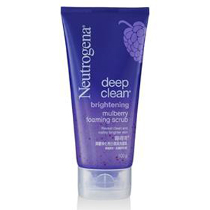 Deep Clean Brightening Mulberry Foaming Scrub