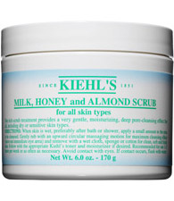 Milk, Honey, and Almond Scrub