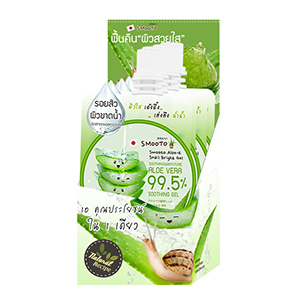 Smooto Aloe-E Snail Bright Gel
