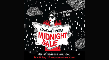 Central and ZEN Midnight Sale 2016