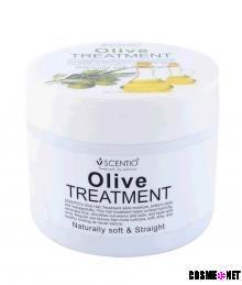 Scentio Olive Naturally Soft & Straight Hair Treatment