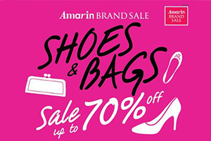 Shoes & Bags Sale up to 70% off!!