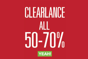YEAH! RATCHAYOTHIN CLEARLANCE SALE