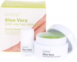 Lansley Aloe Vera Cold Wax Hair Remover