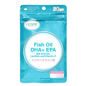 Fish Oil DHA+EPA+Mix Krill Oil, Lecithin and Vitamin E