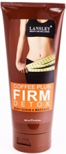 Lansley Coffee Plus FIRM & DETOX Body Scrub & Massage.