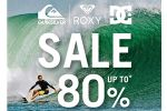 Amarin Brand Sale: Quiksilver, Roxy & DC Sale up to 80%