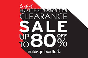 HOTTEST FASHION CLEARANCE SALE !