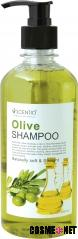 Scentio Olive Naturally Soft & Straight Hair Shampoo