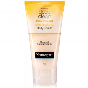 Deep clean blackhead eliminating daily scrub