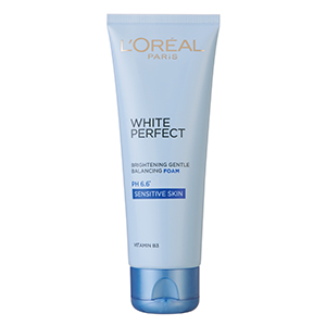 White Perfect Brightening Gentle Balancing Foam