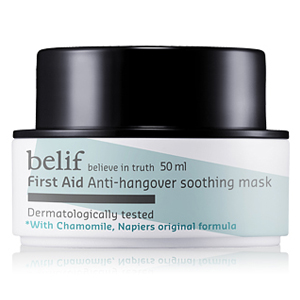 First Aid – Anti-Hangover Soothing Mask