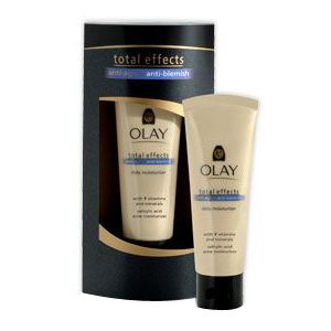 Total Effects Anti-Aging Anti Blemish Moisturizer