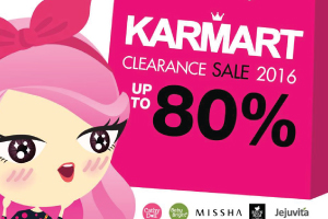 CLEARANCE SALE 2016 (Sale up to 80%)