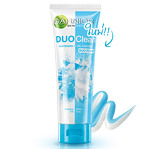 Duo Clean Whitening Oil Control Foam