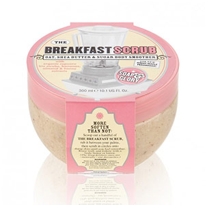 The Breakfast Scrub Oat, Shea Butter & Sugar Body Smoother