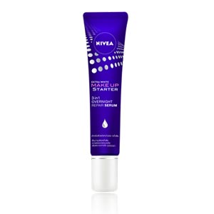 NIVEA EXTRA WHITE MAKE UP STARTER 3IN1 OVERNIGHT REPAIR SERUM
