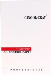 GINO McCRAY The Artist Oil Control Paper