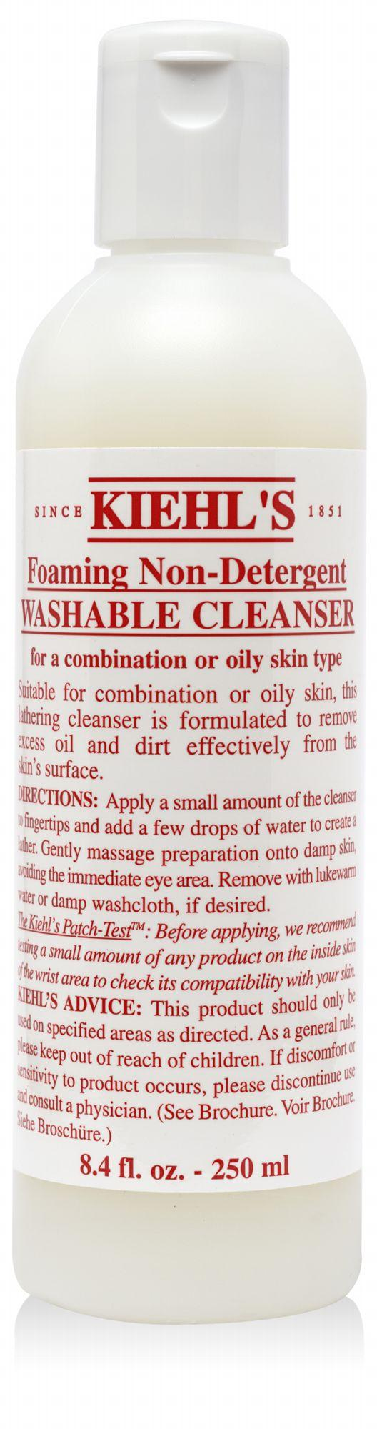 Foaming Non-Detergent Washable Cleanser