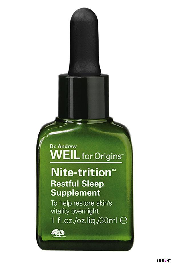 Nite-trition? Restful Sleep Supplement To help restore skins vitality overnight