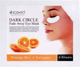 SCENTIO Orange Dark Circle Eye Mask Sheet