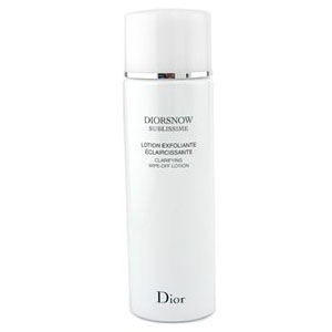 Diorsnow Sublissime - Clarifying Wipe-Off Lotion