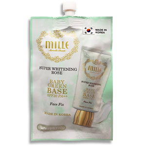 Super whitening rose baby green base SPF30 PA++ Face fix