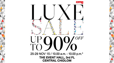 CMG Luxe Sale up to 90% off!!!!