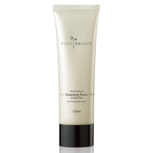 Youth Restore with Black Pearl Cleansing Foam