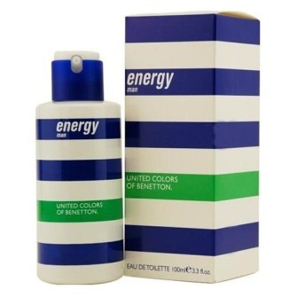 Energy man Eau de Toilette Pour Spray 100 ML.