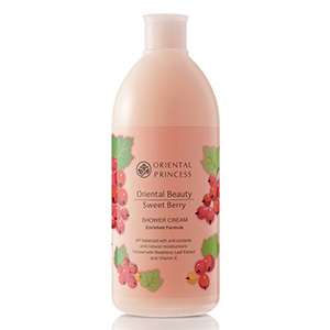 Oriental Beauty Sweet Berry Shower Cream